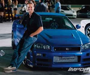 paul walker, car, and fast and furious image
