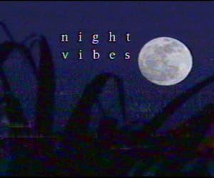 gif, moon, and night image