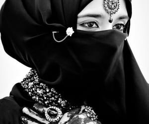 arabian, beautiful, and black image