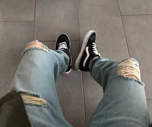 vans, boy, and fashion image