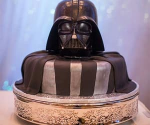 cake, delicious, and star wars image
