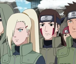 ino, kiba, and shino aburame image