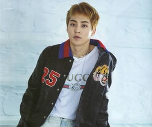 exo, kim min seok, and vocal image