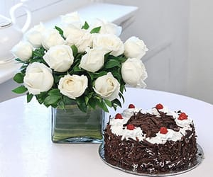 send flowers online, order cakes online, and online flower delivery image