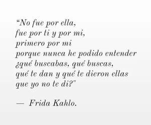 frases, frida kahlo, and español image