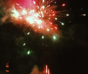 colors, ex, and fireworks image