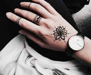 fashion, girl, and henna image