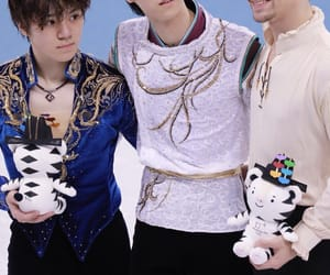 figure skating, japan, and olympic games image