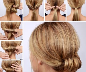 coiffure, tutorial, and hairstyles image
