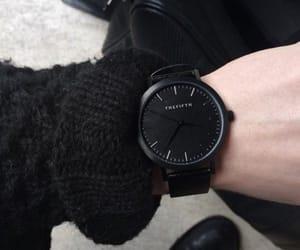 black, designer, and time image