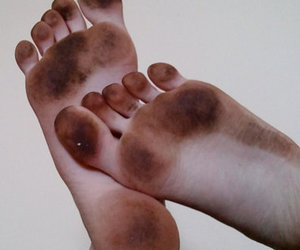 dirty, girl, and soles image