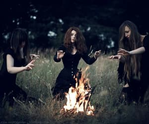 witch, wicca, and bruxas image