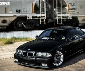 black, bmw, and sports car image