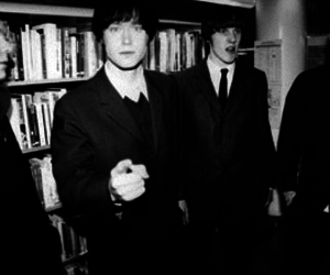 black and white, punk rock, and refused image