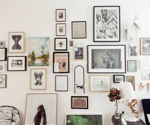 decor, room, and wall image
