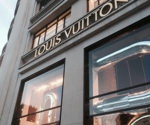 Louis Vuitton, LV, and paris image