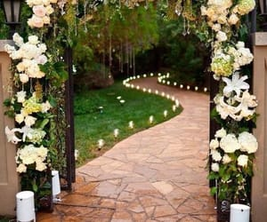 wedding, flowers, and idea image
