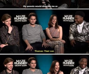 frypan, thomas brodie-sangster, and dylan o'brien image