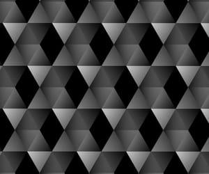 background, black, and geometric image