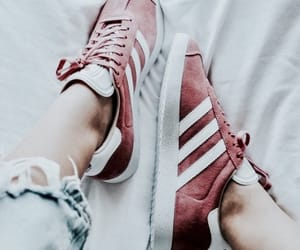 adidas, pink, and red image
