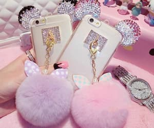 pink, accessories, and case image