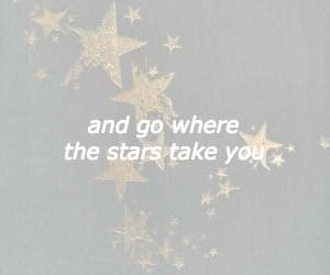 aesthetic, stars, and words image