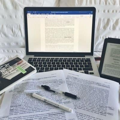 study and work hard image