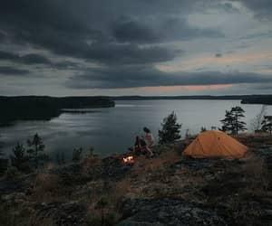 camping, nature, and tumblr image