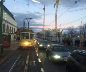 aesthetic, streets, and train image