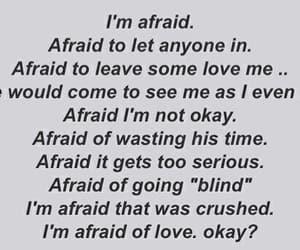 afraid, blind, and crush image