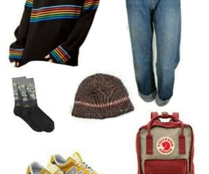 jean, Polyvore, and pull image