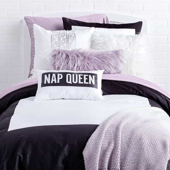 bed, nap, and pastel image