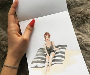 aesthetics, lifestyle, and watercolor image