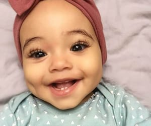 baby, smile, and outfit image
