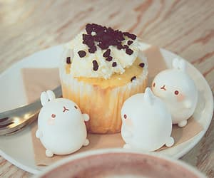 kawaii, cupcake, and cute image