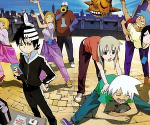 soul eater, anime, and kid image
