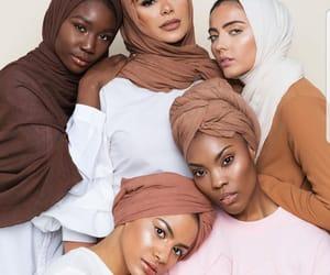 fashion, model, and hijab image