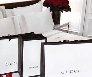 gucci, lux, and rose image