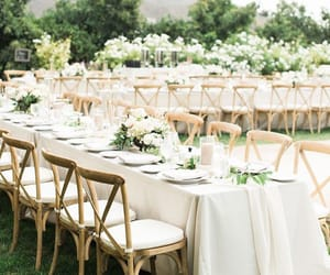romantic, simple, and venue image