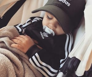 baby, adidas, and cute image