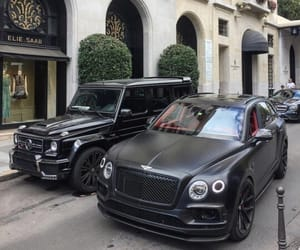 car, Bentley, and mercedes image