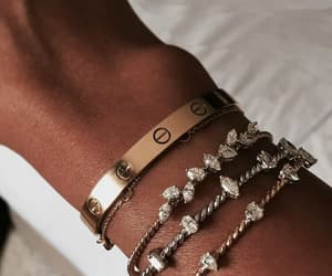 bracelet, fashion, and cartier image