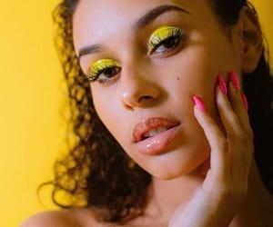 aesthetics, eyeshadow, and makeup image