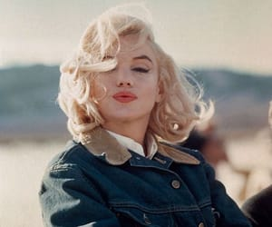 Marilyn Monroe, vintage, and blonde image