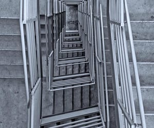 concrete, stairway, and stairwell image