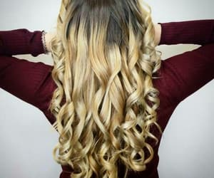 blonde, blonde hair, and highlights image