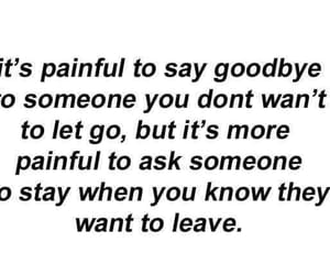 goodbye, leave, and let go image
