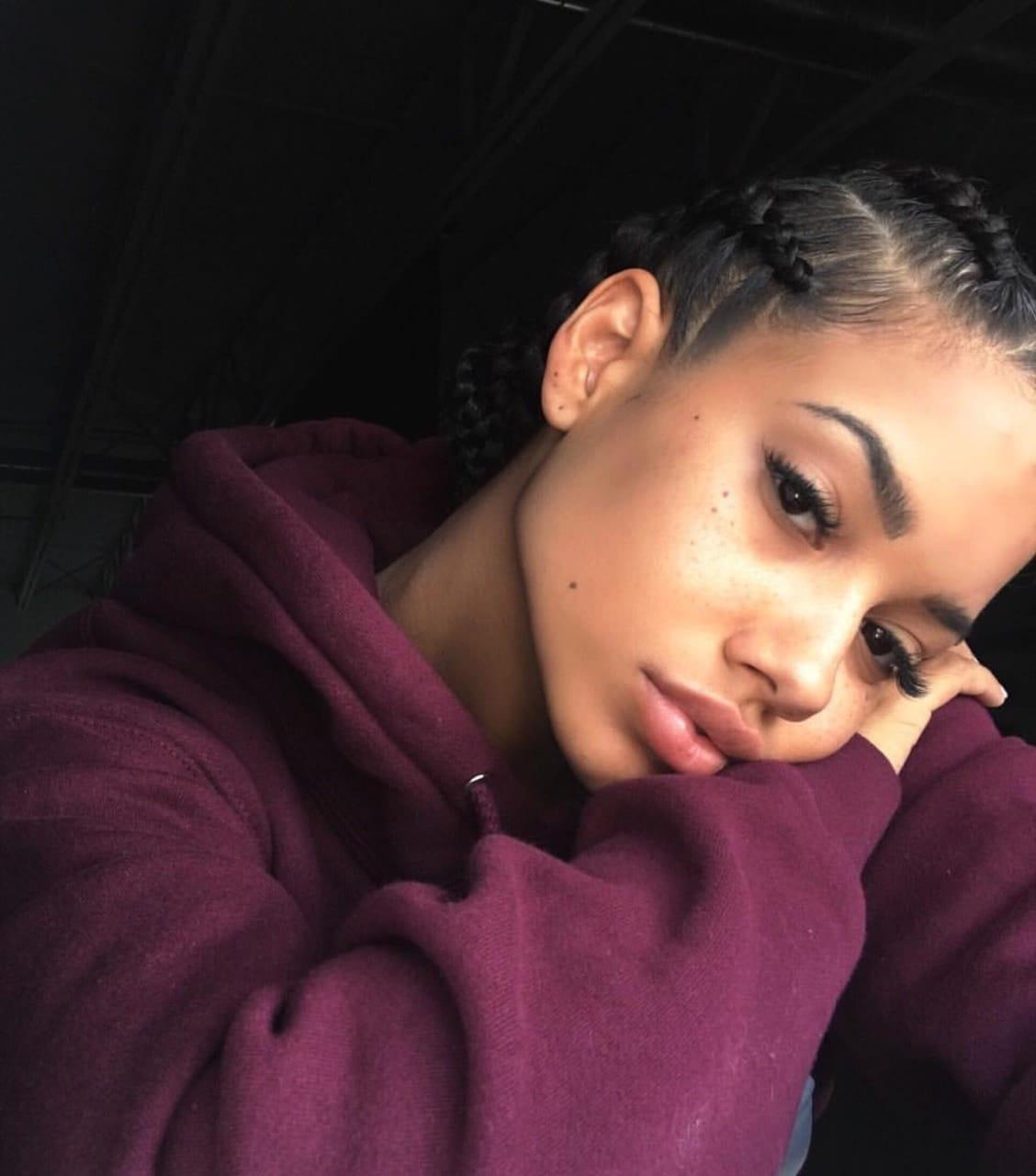 Thick Light Skin Ebony Teen