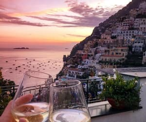 drink, summer, and positano image