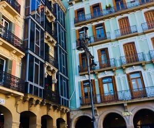 city, street, and sun image